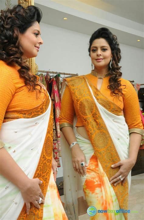 Nagma Actress Stills Nagma In Independence Day Saree