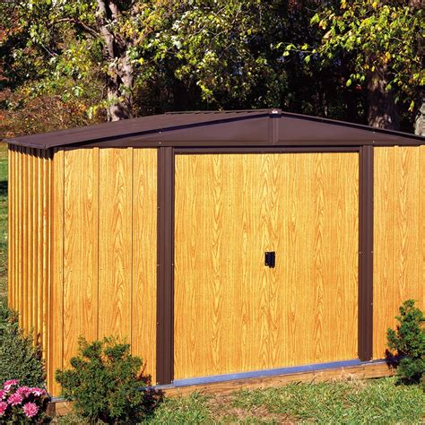 arrow storage shed assembly arrow storage wl108 10 x 8 woodlake shed ebay