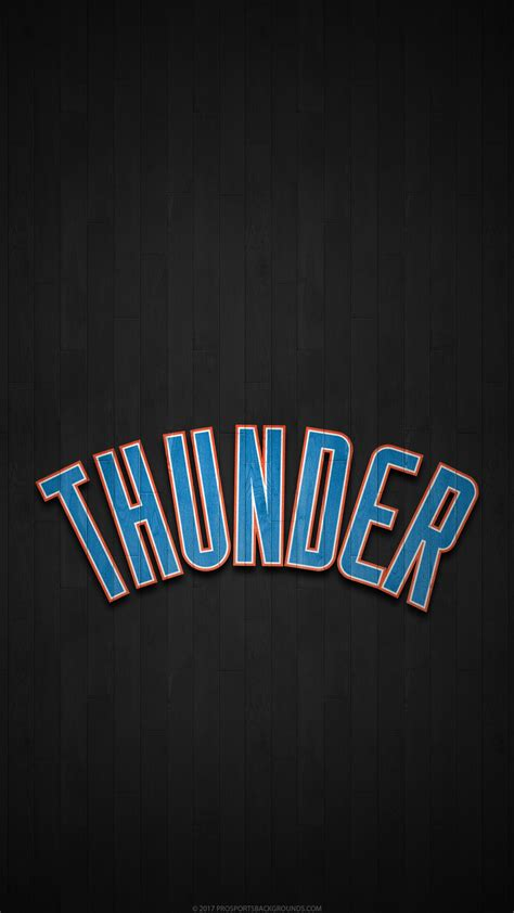 Okc Thunder Background 2018 Oklahoma City Thunder Wallpapers Pc Iphone Android