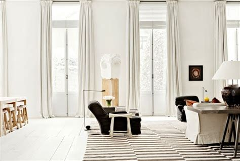Striped Rug In Living Room :  Add More To The Floor With A Striking