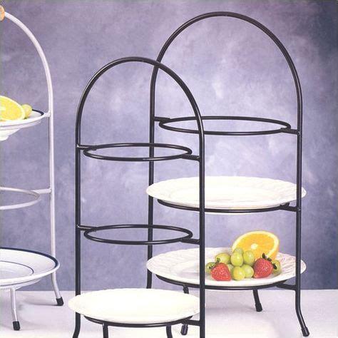 wayfair iron works  tier dessert plate rack plate racks creative home tiered