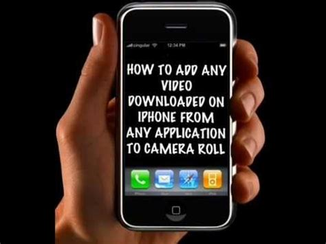 how to to iphone roll iphone ipod add any to roll