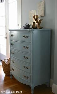 French Provincial Dixie Dresser in French Blue - Saw Nail ...  French