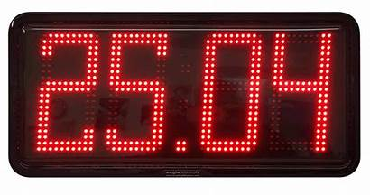 Month Date Clock Showing Led Clocks Digit