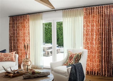 smith noble curtains drapery eclectic living room