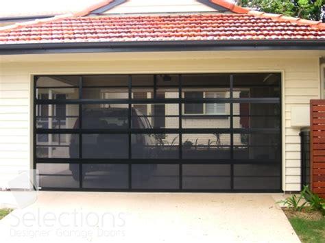mesh door range selections designer garage doors