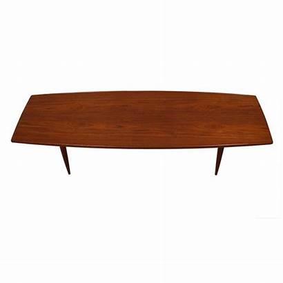 Table Coffee Teak Surfboard Danish Modern Chairish