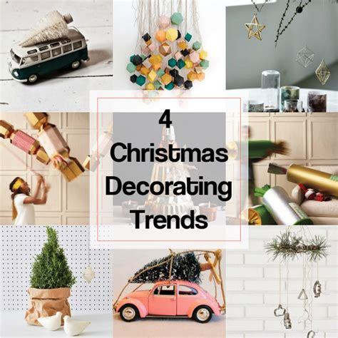 eclectic trends  christmas decorating trends