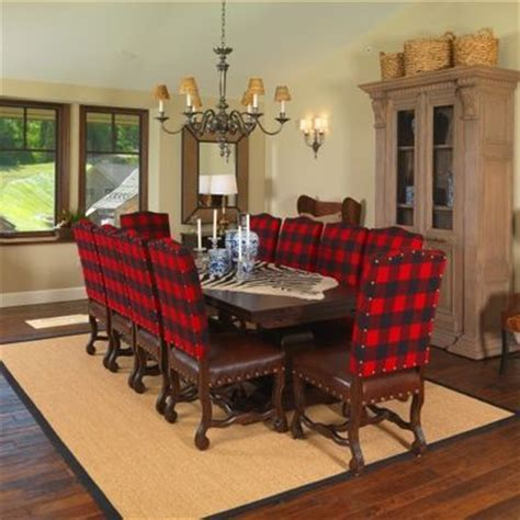 buffalo plaid dining chairs i my plaids