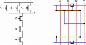 Satish Kashyap  Microwind Tutorial Part 5   Three  3  Input Nand Gate