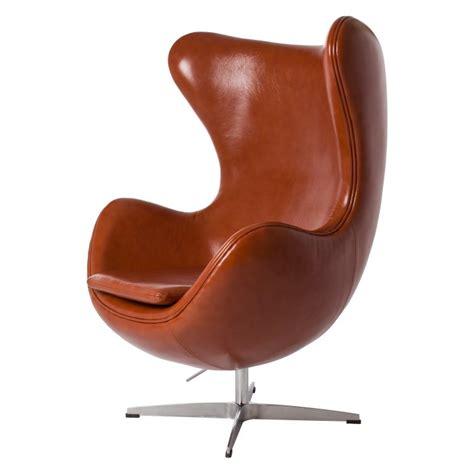 poltrona jacobsen jacobsen lounge stoel egg chair leder design lounge stoel