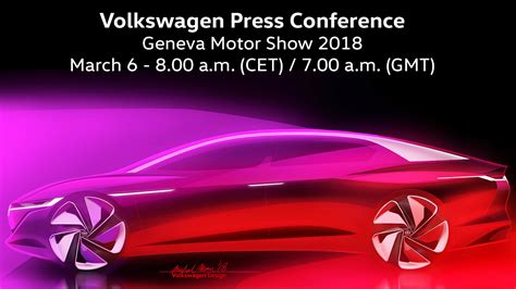 Volkswagen Press Conference At 2018