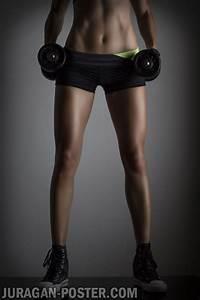 jual poster gambar wanita fitness dan jual poster