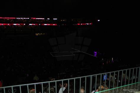spectrum center section  concert seating rateyourseatscom
