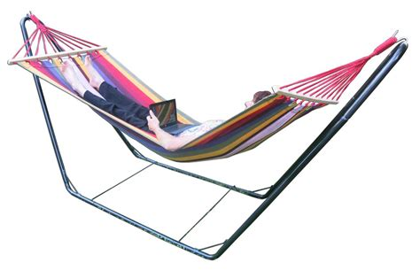 hammock with stand free standing hammock small multi colour spreader bar