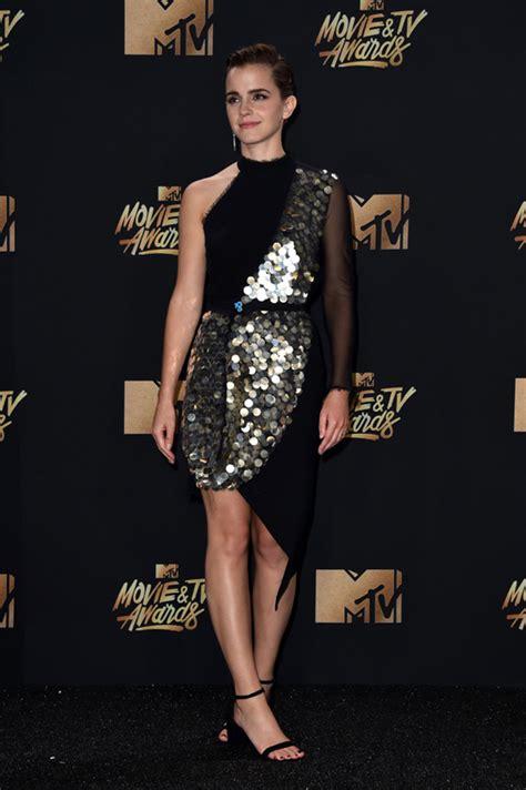 Emma Watson Not Great Dress The Mtv Movie