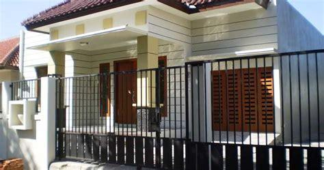 bentuk rumah sederhana  kampung model desain rumah aoep