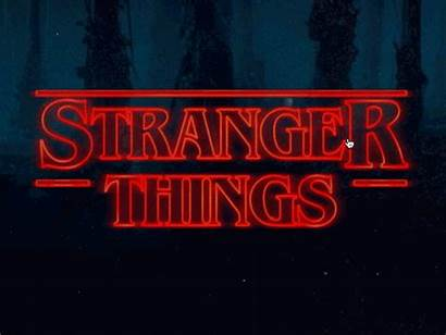 Stranger Things Netflix Strangerthings Dribbble Own Website