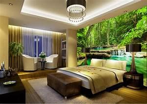 Dekorasi rumah disesuaikan wallpaper untuk dinding ...