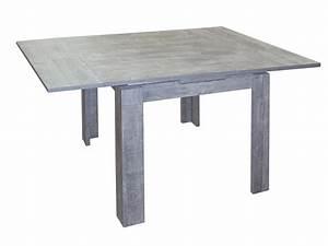 Küchentisch 140 X 80 : esstisch ausziehtisch beton optik 140x80cm ~ Bigdaddyawards.com Haus und Dekorationen