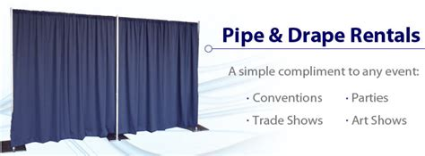 Rent Pipe And Drape - pipe and drape rentals from rentacomputer worldwide
