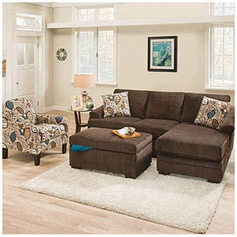 Simmons Ottoman by Simmons 174 Sunflower Brown Storage Ottoman Big Lots
