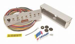 Painless Wiring 50410 8 Switch Pro Street Toggle Switch