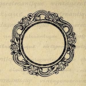 Elegant Circle Border Clipart