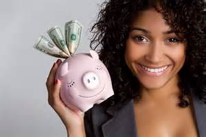 Image result for girl at bank