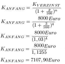 mahnzinsen berechnen zinsrechnung formeln zum zinsen