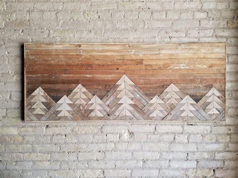 reclaimed wood wall art wall decor wood art queen
