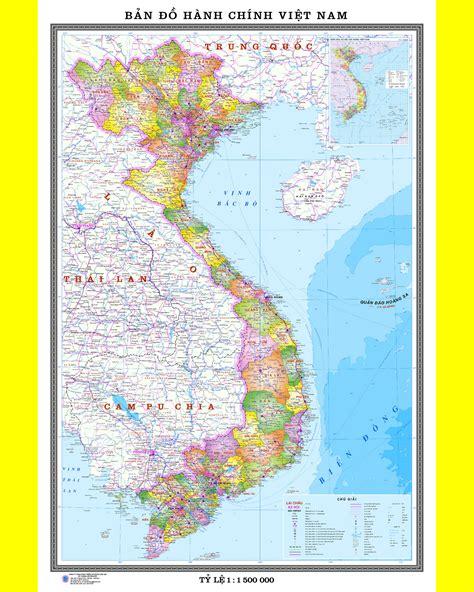 Đây là trận đấu kín, không có sự tham. Bản đồ Việt Nam đất liền khổ A0 (1tr) nẹp gỗ hai đầu - bando.net.vn