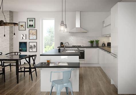 white kitchen units amp cabinets magnet kitchens 576 Nova White
