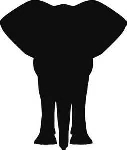 Elephant Silhouette Patterns