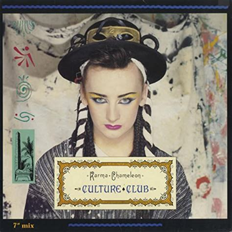 Culture Club Karma Karma Chameleon Cd Covers