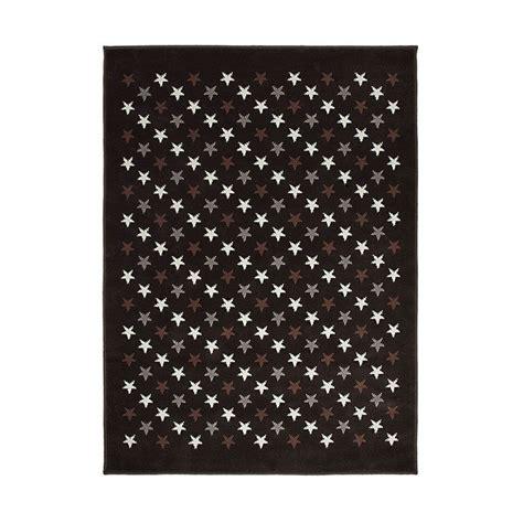 tapis enfant estrellitas marron et gris canals 120x160