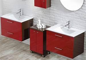 mobilier salle de bains maison design wibliacom With meuble lavabo bois massif 3 mobilier salle de bains design la collection vanilla sky