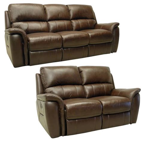 Italian Leather Sofa And Loveseat by Porter Brown Italian Leather Reclining Sofa And Loveseat