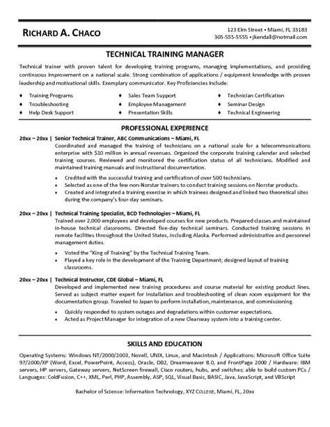 personal trainer resume exle 24 12 sle corporate trainer resume recentresumes com