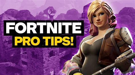 fortnite battle royale tips  pro streamer