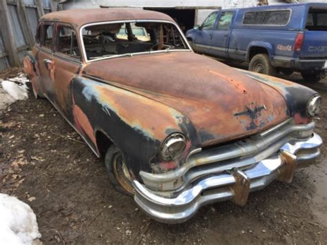 1952 Chrysler Crown Imperial Limo Rock Solid Project Car