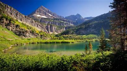 Canada Nature Lake Mountain Desktop Wallpapers Background