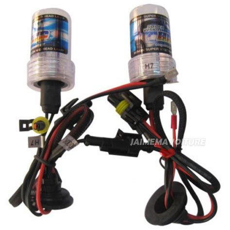 xenon h7 bulbs pair bulb jaimemavoiture