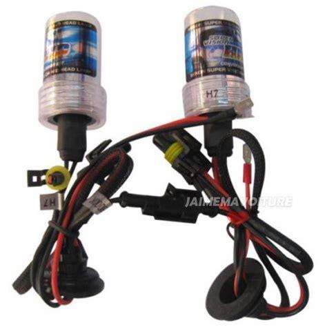 xenon h7 bulbs pair bulb jaimemavoiture