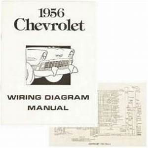 Chevy Wiring Harness Diagram Manual  1956