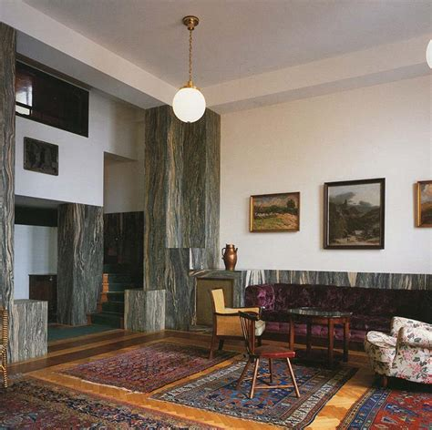 Adolf Loos Interior by I Do Not Draw Plans Facades Or Sections Adolf Loos And