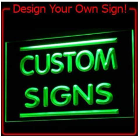 7 colors tm sign design your own led light sign custom