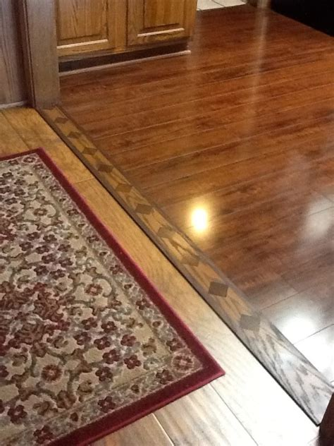 ideas  transition flooring  pinterest wood