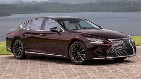 lexus ls 2020 lexus ls 500 inspiration series debuts looking stylish in