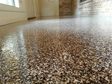 Garage Floor Paint Houston by Broadcast Epoxy Flake Flooring By Green Fox Epoxy